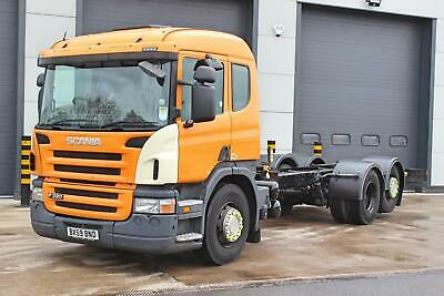 2010 Scania P320 6X2 Chassis Cab. Single Sleeper Cab. 3 Pedal Opticruise Gearbox