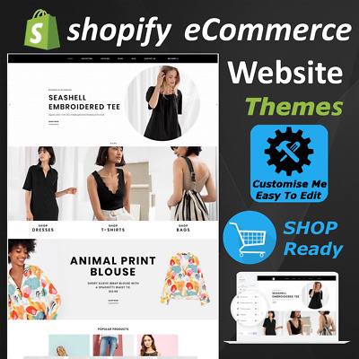 ⭐ eCommerce Website Shopify Store Theme Template - Start Your Online Businesses⭐