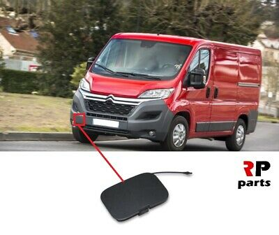 FRONT BUMPER TOW TOWING EYE COVER FOR FIAT DUCATO PEUGEOT BOXER 1611707280