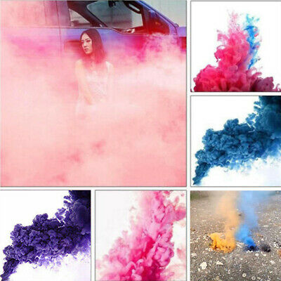 Colorful Prop Smoke Effect Cake Show Stage Photography Party Film Easy Use 1PC
