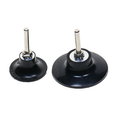 "2pcs Rubber 2"" 3"" Sanding Disc Pad Holder 1/4"" Shank Grinding Abrasive Tools"