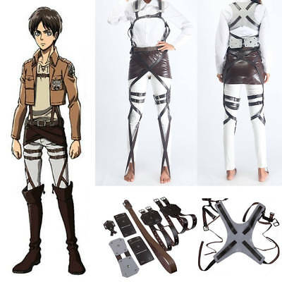 Adjustable Attack On Titan Shingeki No Kyojin Cosplay Costume Belt Accessories