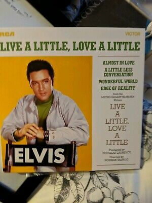 Elvis Presley Live A Little Love A Little FTD With Postcards