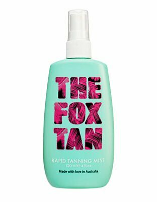 The Fox Tan Rapid Mist Tanning Accelerator 120ml  SAME DAY DISPATCH