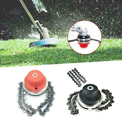 2 Types 65Mn Trimmer Head Coil Chain Brush Cutter Trimmer Grass For Lawn Mower.