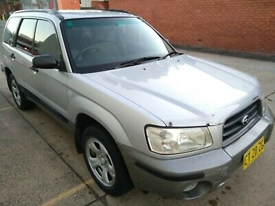 2002 Subaru Forester Xs Wagon Awd- No Reserve Auction  - 6 August Rego