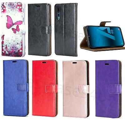 For Samsung A10 A40 50 Phone Case Slim Leather Flip Case Wallet Folio Book Cover