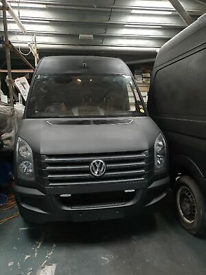 VW CRAFTER LWB New engine and Hatcher bed