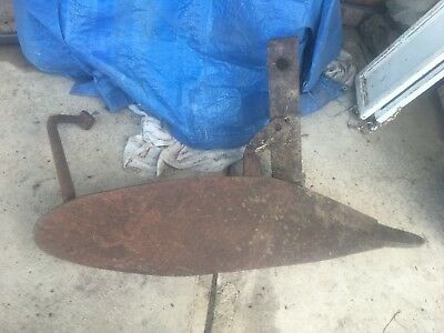 Antique Mouldboard Plough Shank