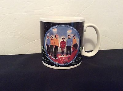 Original 1991 STAR TREK Starship USS Enterprise Crew #P7533 Coffee/Tea Mug