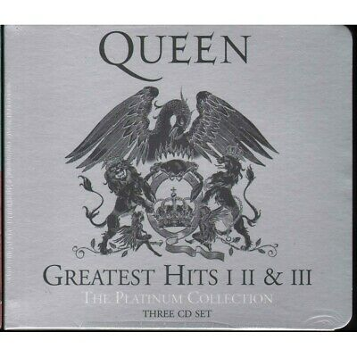 Queen CD Greatest Hits I II & III (The Platinum Collection) Island Sigillato