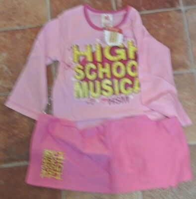New Disney High School Musical 100% cotton  pajamas age 3-4 years