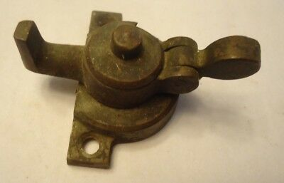ANTIQUE VINTAGE BRASS BRASS WINDOW SASH LATCH LOCK casement