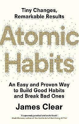 NEW Atomic Habits by James Clear Paperback (Free Shipping)