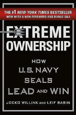 NEW Extreme Ownership by Jocko Willink & Leif Babin Hardrback (Free Shipping)