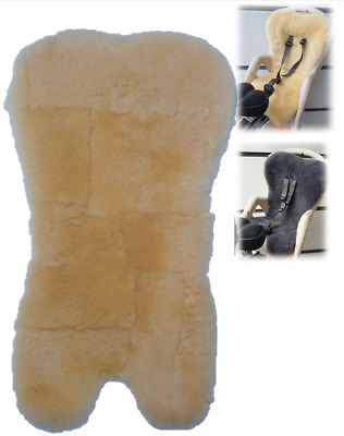 Real Sheepskin Liner For Children Baby Kids Bike Bicycle Cycle Rear Seat Carrier