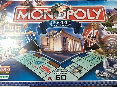 Hasbro - Monopoly Sheffield Edition board game 2007 Limited Edition