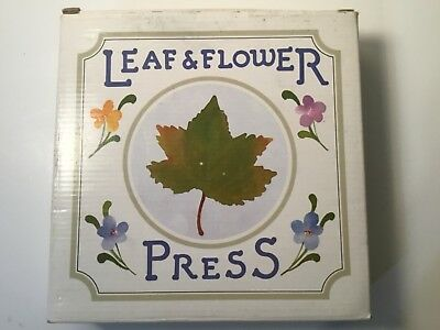 Vintage Leaf & Flower Press Made Exclusively for Lillian Vernon Crafting NIB