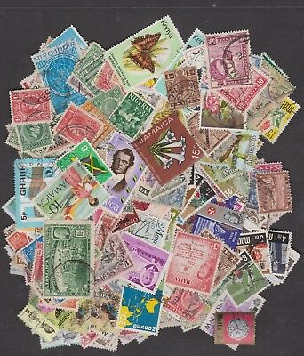 300 different Commonwealth Stamps/countries - (mainly used)