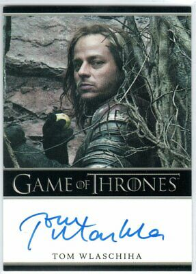 Game Of Thrones Season 5 Tom Wlaschiha As Jaqen H'ghar Autograph Limited