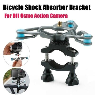 For DJI Osmo Action Camera Bicycle Shock Absorber Extended Gimbal Fixed Holder