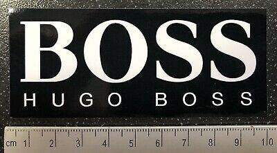 OFFICIAL McLaren Hugo Boss F1 Promotional WINDOW Sticker.  Formula One