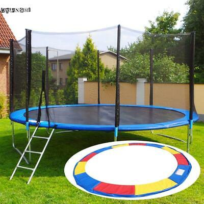 10/12/14/15 FT Round Trampoline Safety Pad Spring Round Frame Pad Jump Cover US