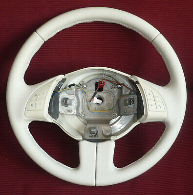 Completely Restored Steering Wheel For A Fiat 500---2007-2015