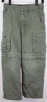 Boy Scouts Of America Youth Size 6 Uniform Switchback Pants Shorts Cargo Green