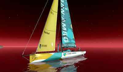 Volvo Ocean Race Team ABN AMRO Sailing Watch New - you install battery + SAVE $$