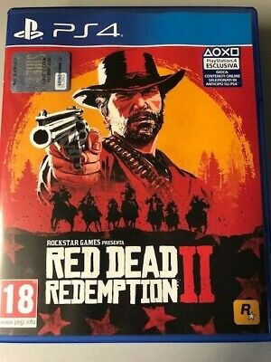 Sony Playstation 4 Ps4 Red Dead Redemption Pal Italiano Completo Di Mappa ☆