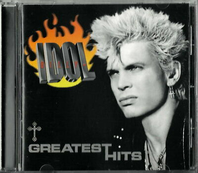 Billy Idol - Greatest Hits Cd - 16 Great Selections