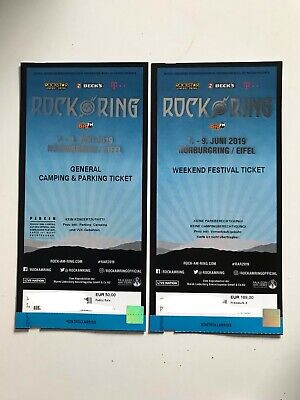 Rock am Ring 2019 Weekend Festival Tickets + General Camping Hardticket