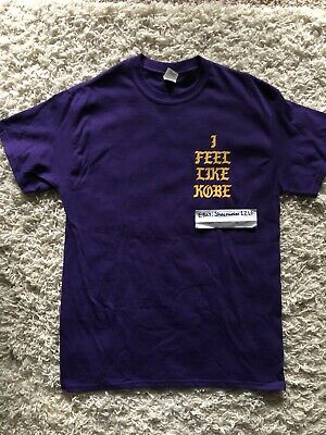 bd3dc8fd Kanye West I Feel Like Kobe Bryant Short Sleeve T-Shirt Yeezy Size M Home