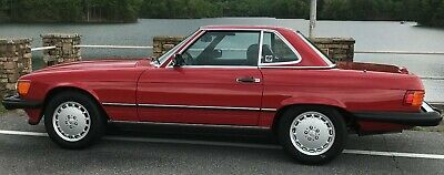 1988 Mercedes-Benz SL-Class 560SL 1988 Mercedes-Benz 560sl One Owner 28K Mile Mint Condition Discerning Collector