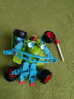 Walt Disney Pixar Toy Story RC Car Transformer Action Figure Animated Movie RARE