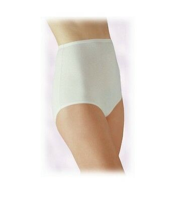 871b84b01d5521 Vanity Fair Womens 15318 PerfectlyYours Tailored Cotton Brief Panty White  10/3XL