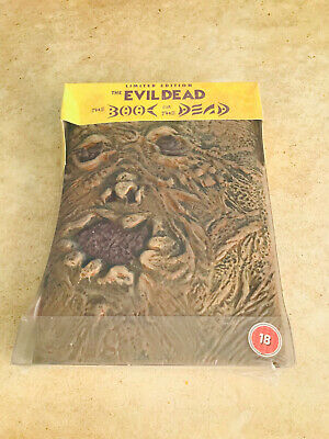 LIMITED EDITION - New & Sealed Evil Dead BOOK OF THE DEAD DVD UK Release
