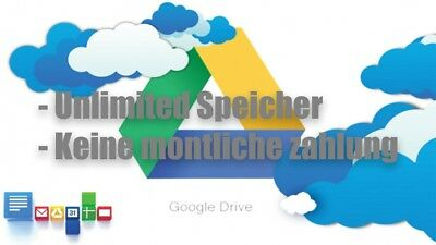 Google Drive Unlimited Storage - Liftime Without Time Limit!