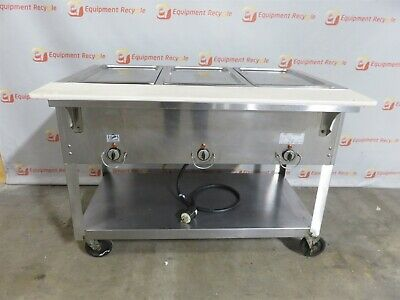 Duke EP303 M Aerohot Electric Portable Insulated Hot Food Steam Table Station