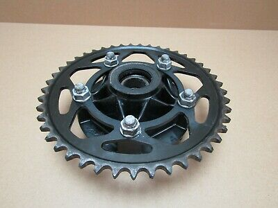 BMW S1000XR 2015 10,001 miles rear wheel hub with sprocket (3078)