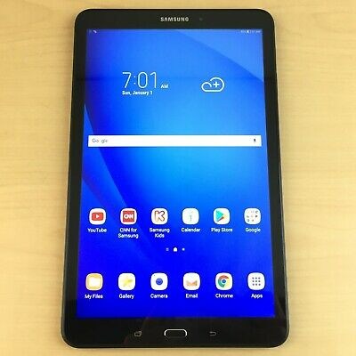 Samsung Galaxy Tab A SM-T580 16GB, Wi-Fi, 10.1in Tablet - Black