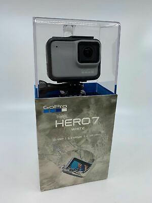 💎NEW💎 GoPro HERO7 White Waterproof Action Camera, Touch Screen, 1440p HD Video