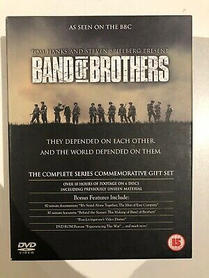 Band Of Brothers - Complete HBO Series Commemorative Gift Set MINT FAST DIS
