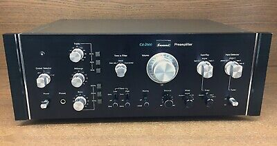 Sansui CA-2000 Preamplifier 100-240 Volts (Super Clean)