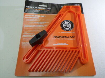 Bench Dog Feather-Loc anti binding kick back work piece guide table circular saw