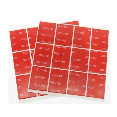 10x Clear Double-Sided 3M Self Adhesive Sticker Sticky Pads  30mmx40mm