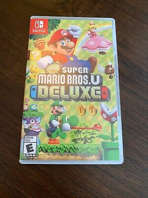 New Super Mario Bros. U Deluxe (Nintendo Switch, 2019) Excellent Condition!