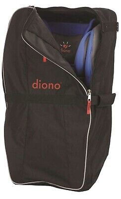 New Diono Car Seat Travel Bag, Designed to Carry Convertible Car Seats, Black
