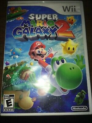 Super Mario Galaxy 2 Nintendo Wii 2010 Tested Working Complete